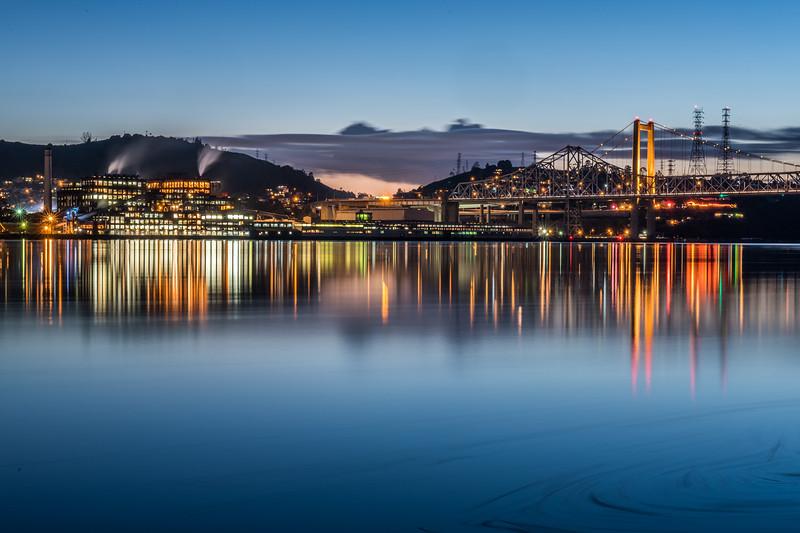Carquinez Strait Reflections
