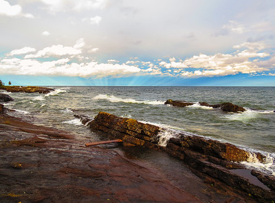 'Planking' at Lake Superior