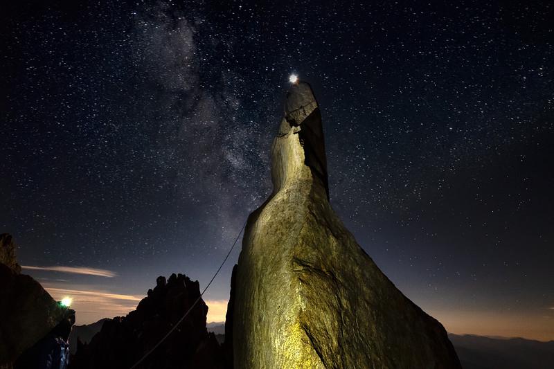 Starlight Peak Under the Stars