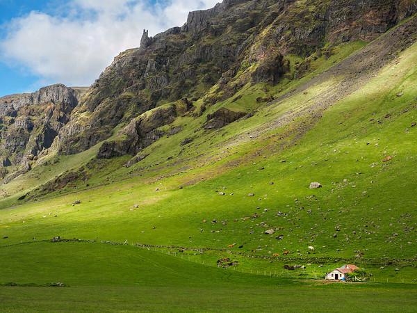 82 Iceland - to Skogarfoss by Eyjafjallajokull