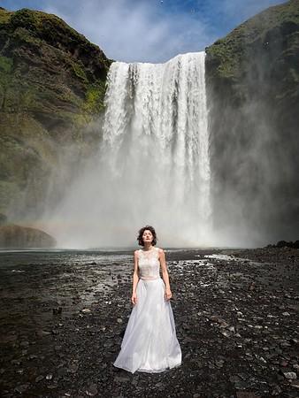 95 Iceland - Skogarfoss