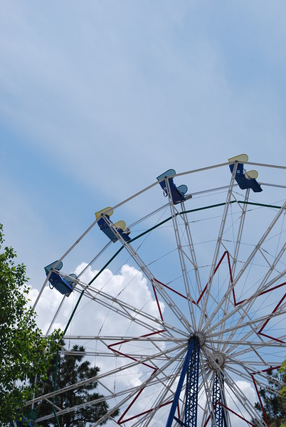 Ferris Wheel at Heritage Square, CO