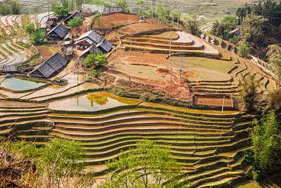 Sapa near Lao Cai, Vietnam
