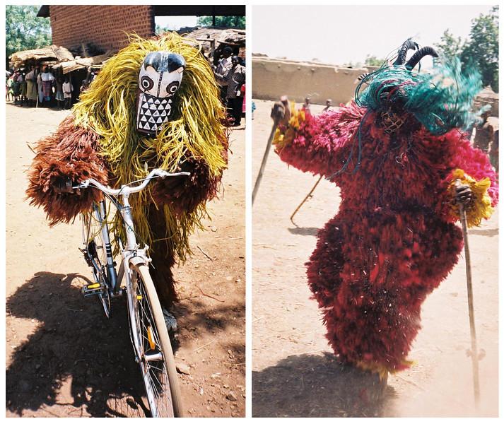 <b>Nouna Bush Spirits Dance Masks</b>  Pouni, Burkina Faso