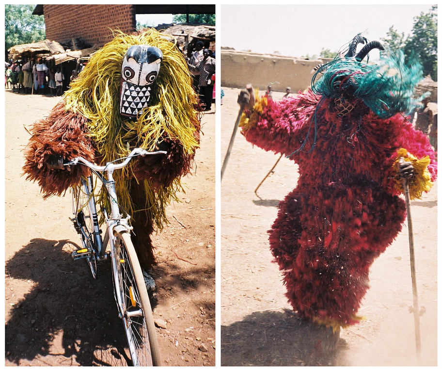 <b>Nouna Bush Spirits Dance Masks</b>  Pouni, Burkina Faso