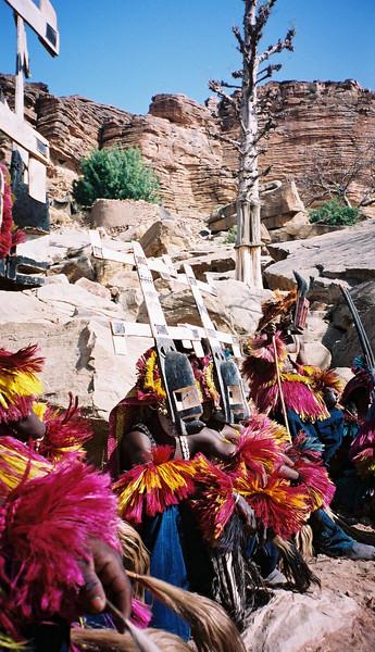 <b>Kanaga Dance Masks </b>  Tirelli, Mali