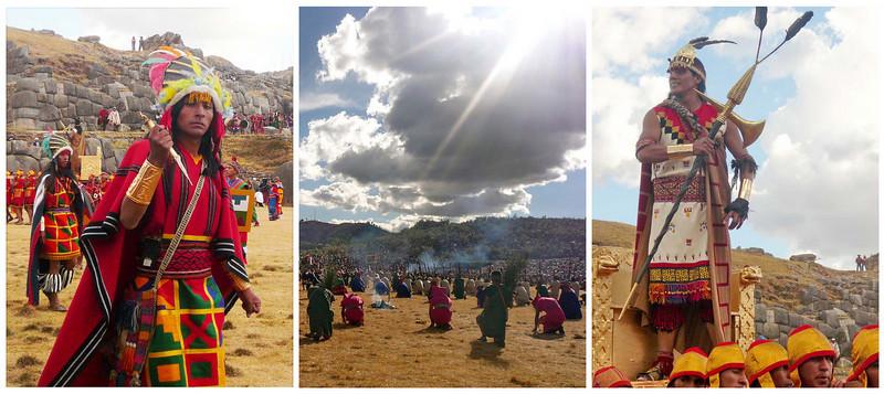 <b>Inti Raymi</b> Winter Solstice Celebrations  Sacsayhuaman, Peru
