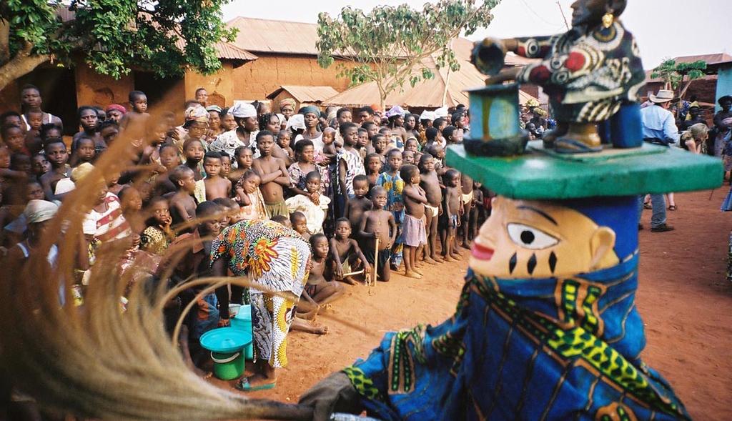 <b>Gelede Dance Masks </b>  Cove, Benin