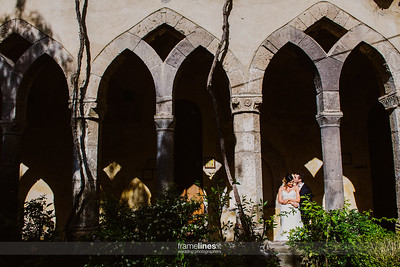 Wedding Saint  Francis Cloister