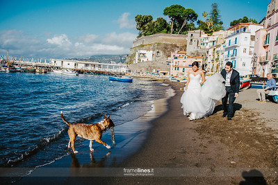 Wedding photojournalism Sorrento