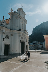 Church Wedding in Atrani , Amalfi Coast