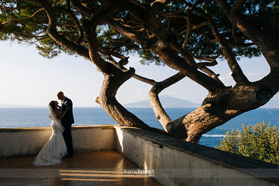 Couple portrait in Amalfi Coast