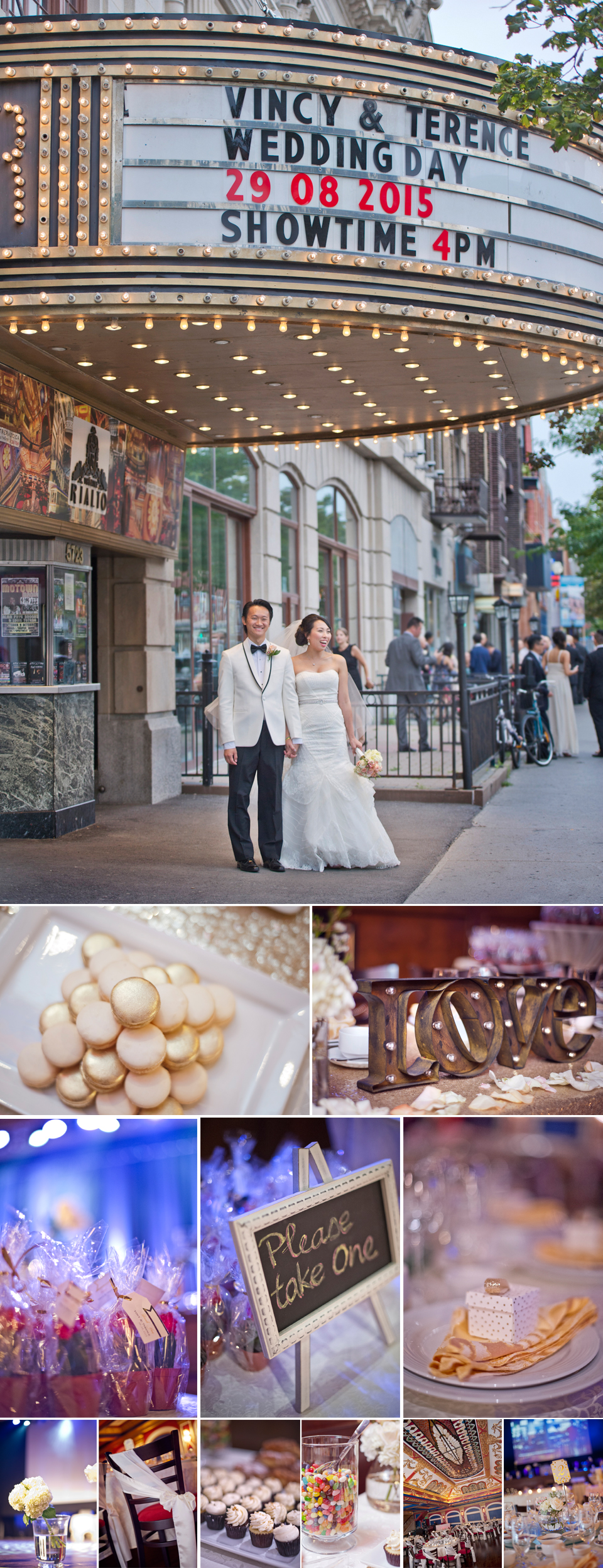 Wedding Photographer Montreal | Details | Rialto Theatre | Outremont | LMP Wedding Photo and Video