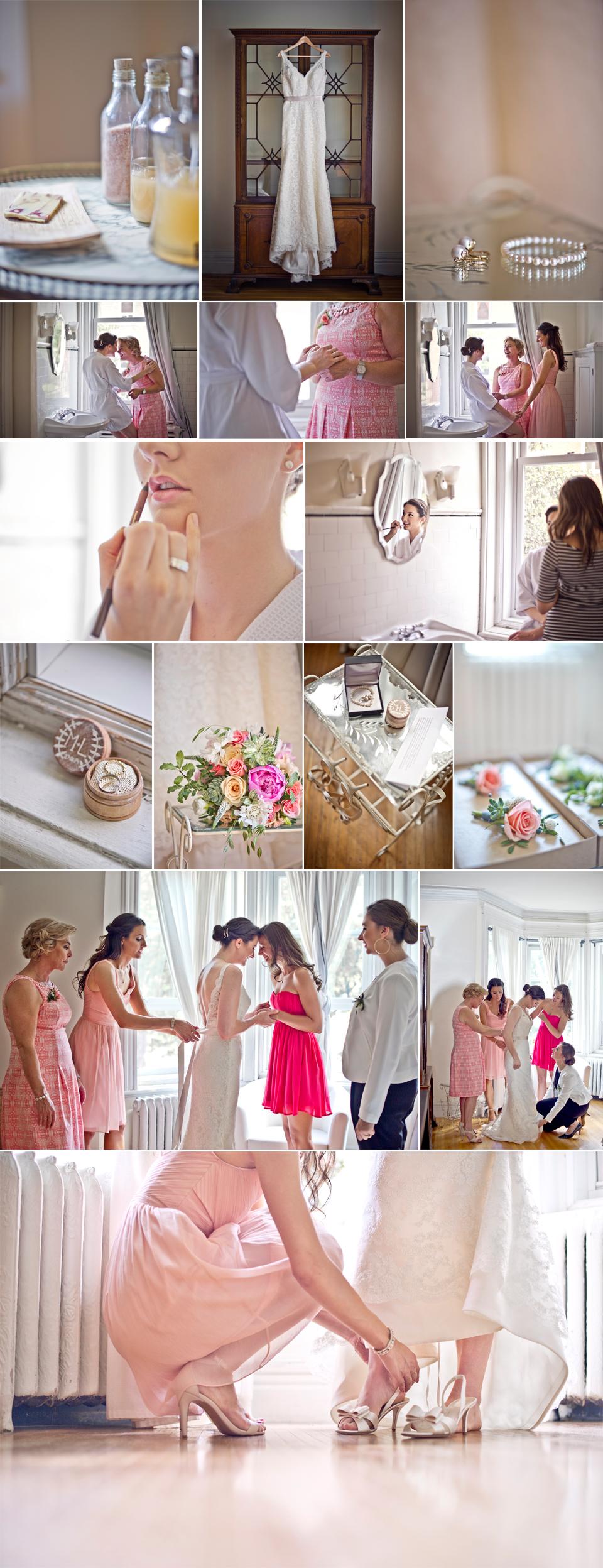 Montreal Wedding Photographer | Bridal Details | Casa Bianca | LindsayMuciyPhotography