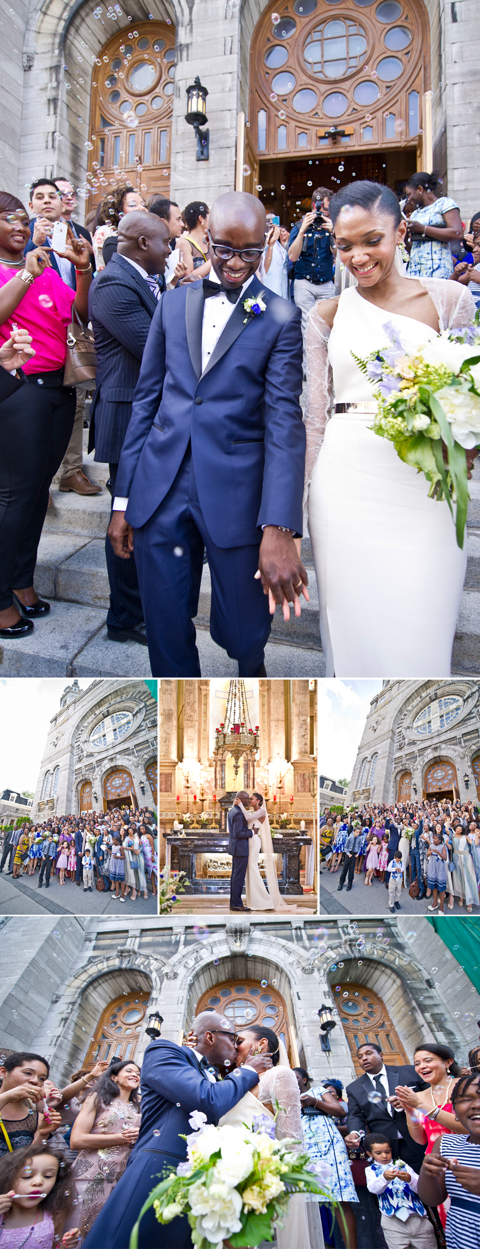 Montreal Wedding Photographer | Procession | Chateau St. Ambroise | Montreal Quebec | LMP Photography and Videography