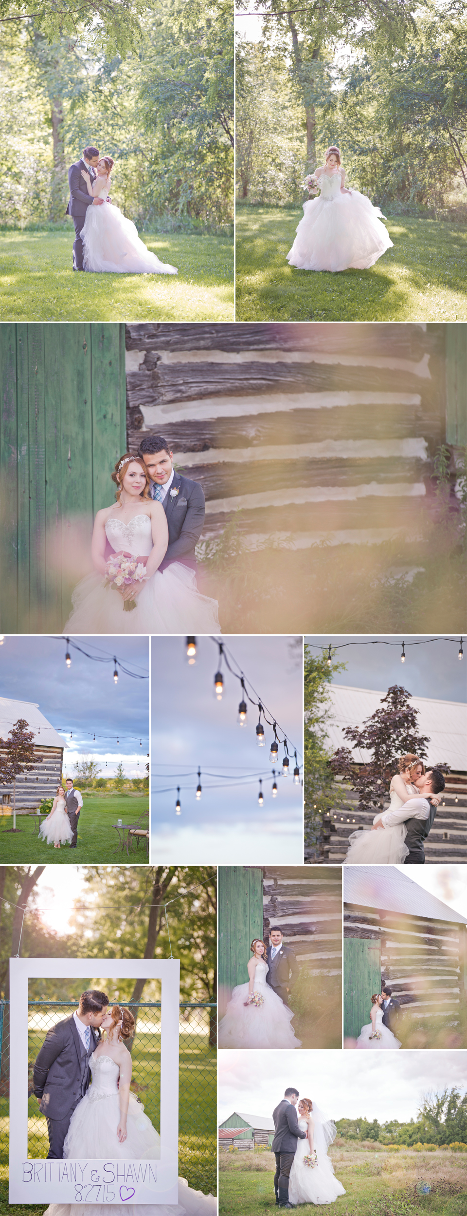 Montreal Wedding Photographer and Videographer| Stonefields Heritage Farm | Carleton Place Ontario | Couple's Photos | LMP Wedding Photography and Videography