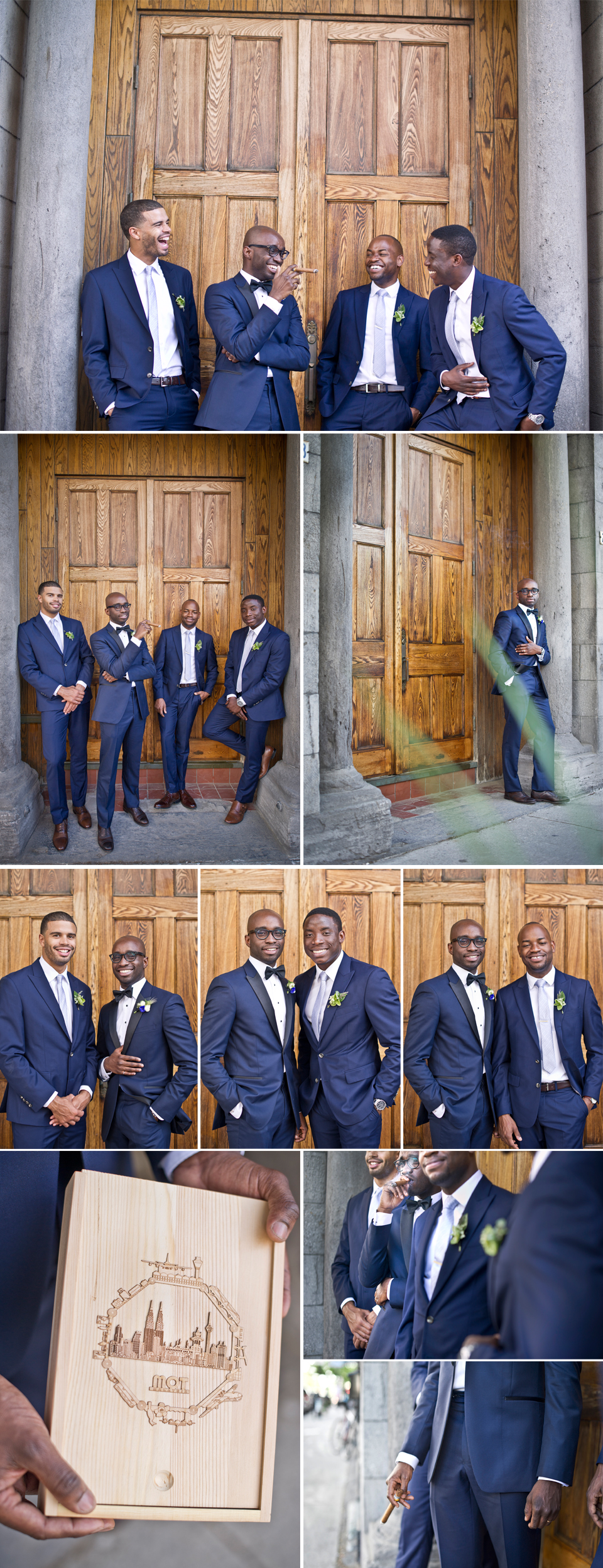 Montreal Wedding Photographer | Groomsmen | Chateau St. Ambroise | Montreal Quebec | LMP Photography and Videography