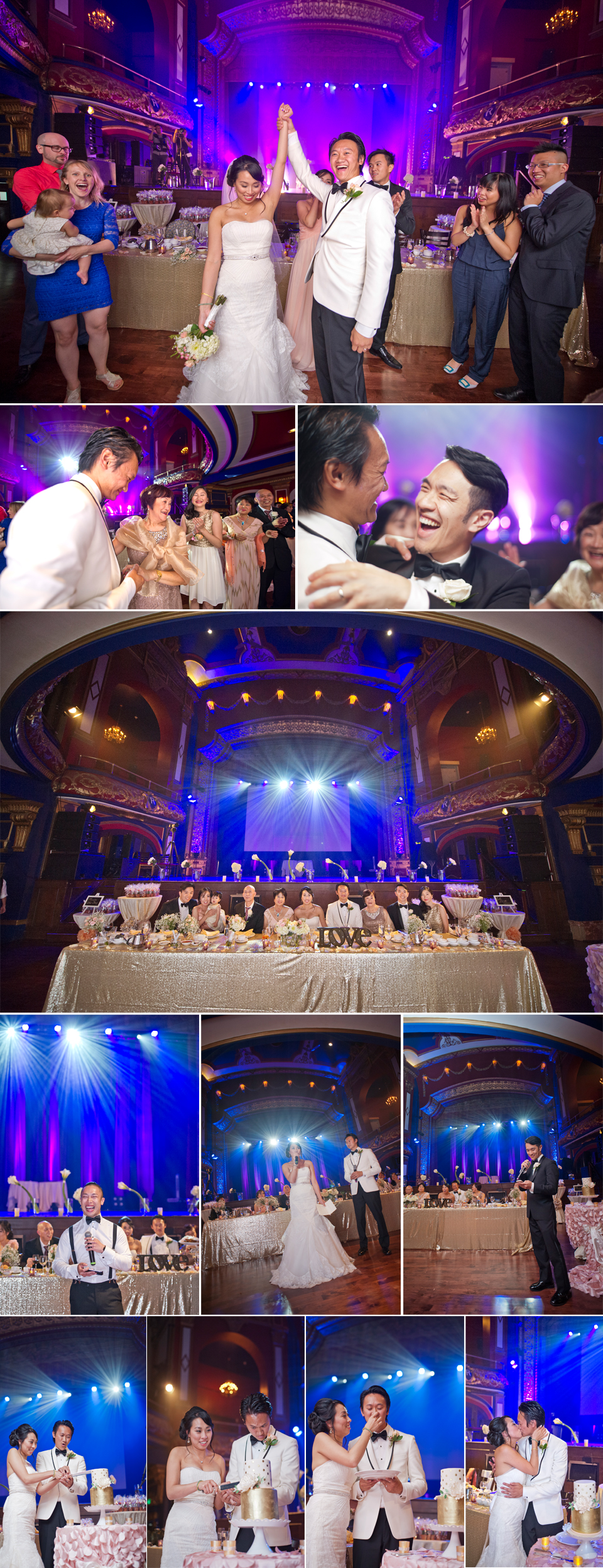 Wedding Photography Montreal | Reception | Rialto Theatre | Outremont | LMP Wedding Photography and Videography