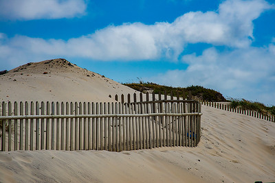 Beach Fence. Portugal