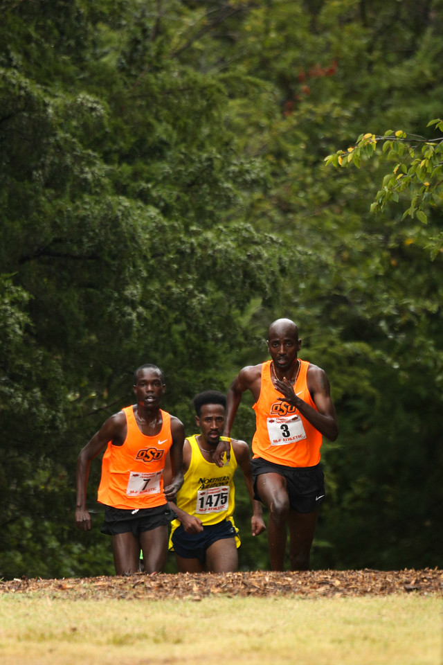 Oklahoma State University Cross Country Cowboy Jamboree on Saturday, September 29, 2013. Photos by Mitchell Alcala/Ostatephoto.com