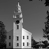 B&W of the Jeffrey Meetinghouse