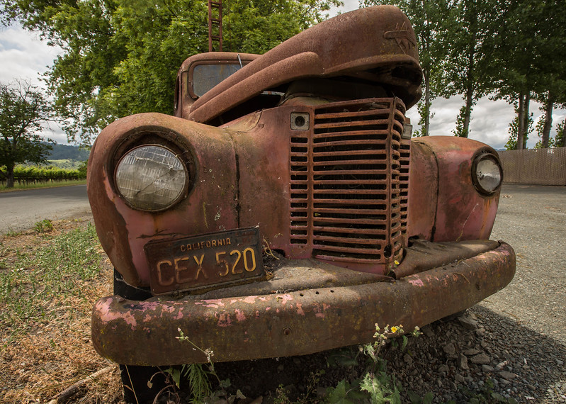 Abandoned in Napa