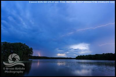 Turner Reservoir Lightning