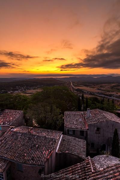 Saint Michel's dawn