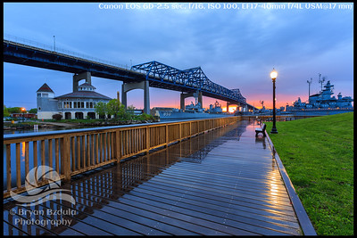 Battleship Cove Sunset