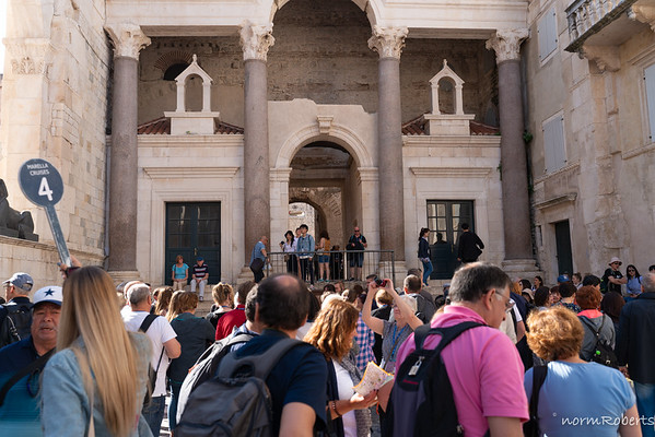 Diocletian's Palace - Let's be real, it was crowded.