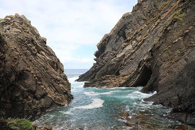 Rocky inlet at Ribadesella