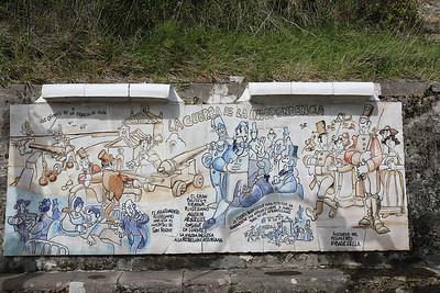 Mural at Ribadesella