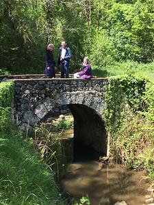 Three on the bridge