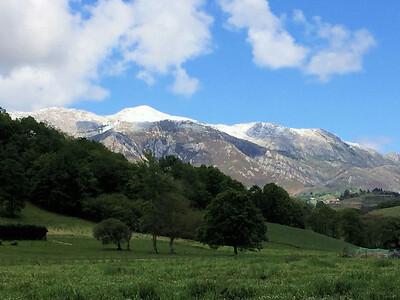 View of the Sueve range