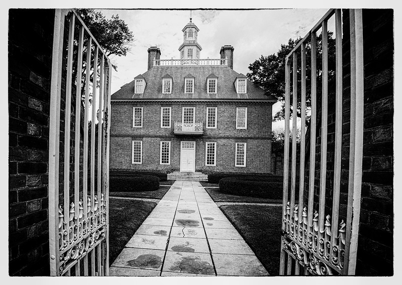 Gouvenors House at Olde Colonial Williamsburg VA