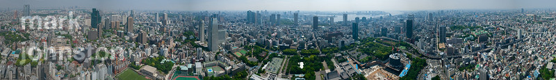 360 degree panorama from Tokyo Tower