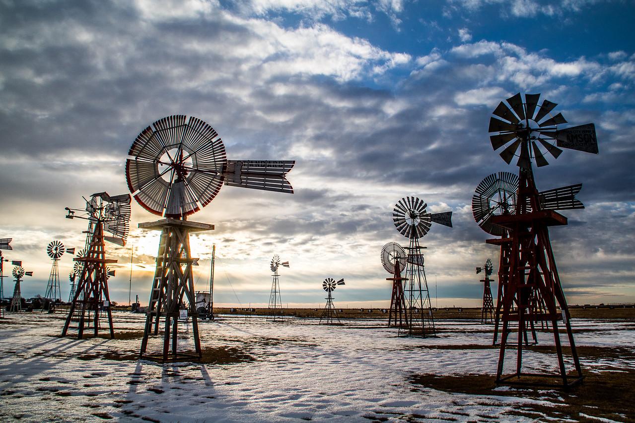 Windmill Park, Spearman Texas.
