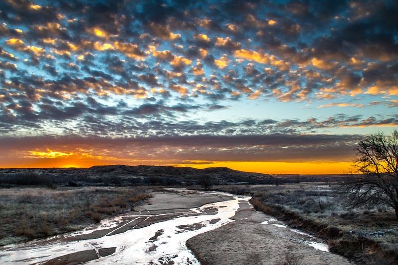 Big Creek, Stinnett, Texas.