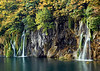 Waterfalls at Plitvice Lakes National Park