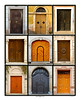 This is a composite of the Doors of Eastern Europe from photos I took during our tour. From top left to bottom right they are: Prague, Eger, Rab, Rab, Eger, Rab Rab, Prague, Prague.<br /> <br /> This is a 16x20 inch poster and it will fit in a standard 16x20 frame, with a one inch white borader and is suitable for printing.
