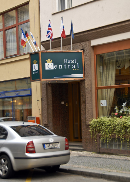 Hotel Central ... starting location for the Rick Steves' Best of Eastern Europe Tour!