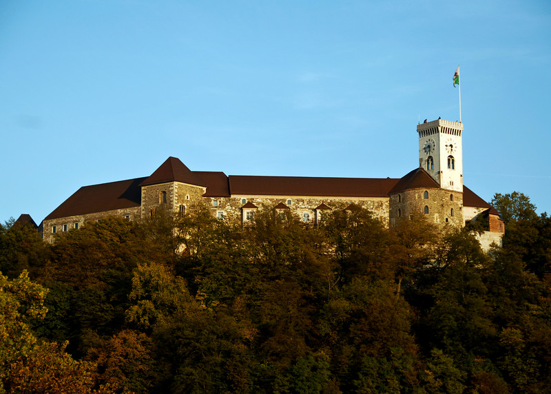 Ljubljana Castle.