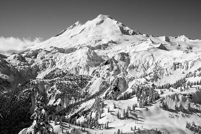 Mt. Baker rising above.