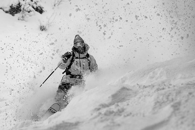 Parker White exiting the white room