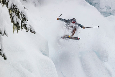 Duncan Adams in the steeps