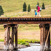 Who: Kelly Conroy and son Bowie; Where: southern Colorado; When: August 2017