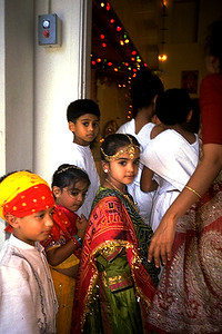 Jain Children at a Hindu Temple (Fremont, CA)