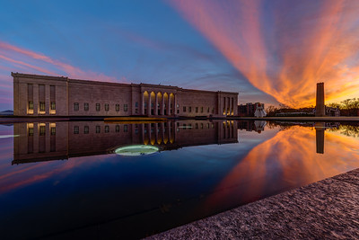 Nelson Atkins - Sunset Full
