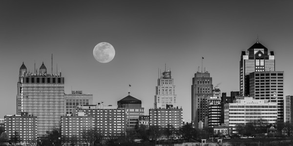 Moon over Kansas City
