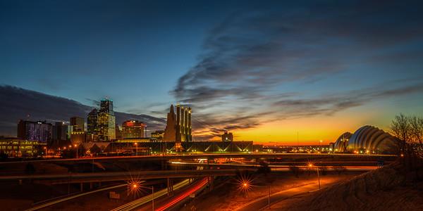 KC Skyline Sunrise